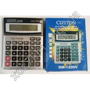 X-824 Калькулятор CIZITON DM-1200V