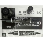 X-653 Маркер двухсторонний 150-ВК 10 шт упаковка