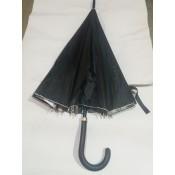 x-2797 Зонты отрос 55см 16круч .кожн. ручка