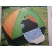 X-2927  Палатка 3 места размир 150*200*110см (автомат) воход 1 москитная сетка есть окошко
