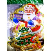 Х-3481 Наклейки новогодние Дед Мороз 56cm