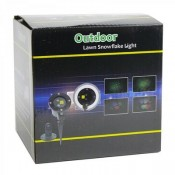 -3499 Outdoor Lawn Snowflake light