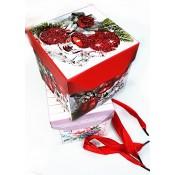 x-3538 Коробка маленькая новогодняя