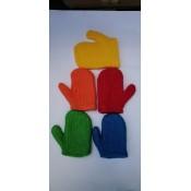 X-3906 Мочалка банна рукавичка 20*2*18 см