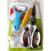 X-1771 Кухонный набор (экономка, нож, ножницы)